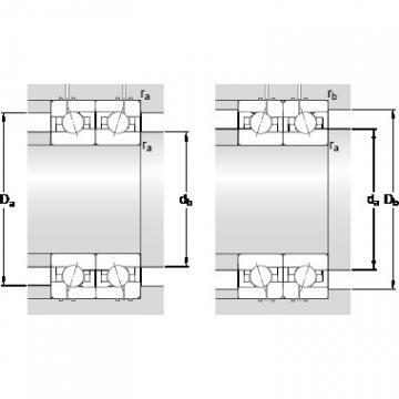 95 mm x 145 mm x 24 mm Da max. SKF 7019 ACE/P4AH1 Lower Torque Precision Bearings
