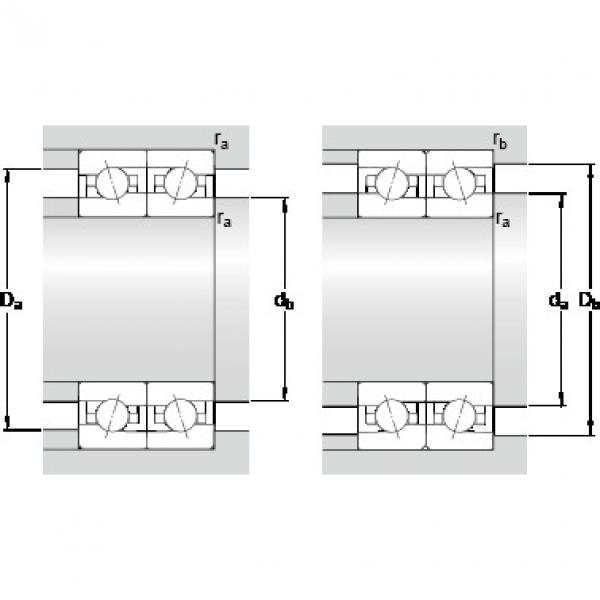 25 mm x 47 mm x 12 mm d2 SKF 7005 ACE/P4BVG275 ISO class 2 ABMA ABEC9 Precision Bearings #5 image