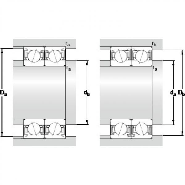 45 mm x 75 mm x 16 mm Calculation factor f2B SKF S7009 CDTP/P4B Lower Torque Precision Bearings #1 image